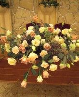 ジュリアバラのメイン装花