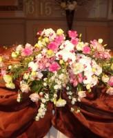 胡蝶蘭、メイン装花