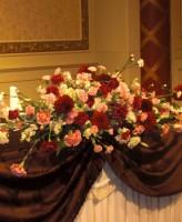 ダリア、メイン装花