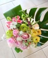 初春の花束
