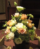 バラ、トルコのゲスト装花