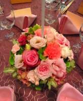 バラ ゲスト装花